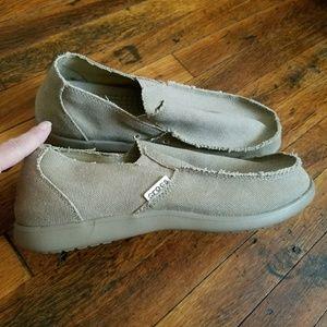 Nwot Crocs Canvas Shoes size Men's 13